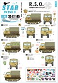 STAR DECALS[SD35-C1145]1/35 WWII独 R.S.O./01