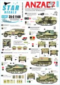 STAR DECALS[SD35-C1148]1/35 WWII英連邦 アンザック軍 #2