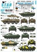 STAR DECALS[SD35-C1152]1/35 現用ソビエト/ロシア軍の海軍歩兵 #4
