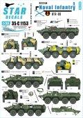 STAR DECALS[SD35-C1153]1/35 現用ソビエト/ロシア軍の海軍歩兵 #5 BTR-80