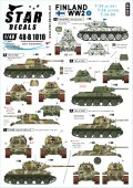 STAR DECALS[SD48-B1010]1/48 WWII 第二次大戦のフィンランド#2 T-34m/41 T-34m/43 T-34/85