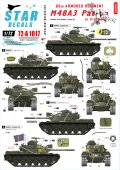 STAR DECALS[SD72-A1017]1/72 ベトナム戦のM48A3  第69戦車連隊