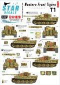 STAR DECALS[SD72-A1020]1/72 西部戦線のティーガー#2 SS第101重戦車大隊 第2,3中隊