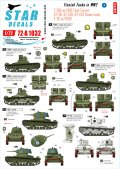 STAR DECALS[SD72-A1032]1/72 WWIIのフィンランド戦車#4
