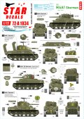 STAR DECALS[SD72-A1034]1/72 WWII 米 M4A1シャーマンD-デイ75周年スペシャル フランス ノルマンディー1944年