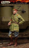 スターリングラード[ST1102]1/35WWIイギリス戦車兵(2)煙草を吸う将校