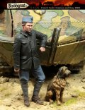 スターリングラード[ST1125]1/35WWIフランス戦車兵(5)戦車兵と犬
