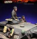 スターリングラード[ST3004]1/35ドイツ陸軍 戦車兵セット1939〜45(3体入)