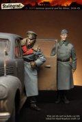 スターリングラード[ST3005]1/35ドイツ陸軍 高級将校と将校付運転手