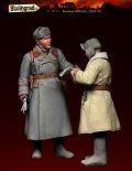 スターリングラード[ST3051]1/35ロシア赤軍41〜43年冬(1)打合せをする士官と兵士