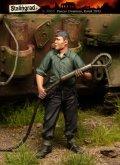 スターリングラード[ST3085]1/35ドイツ戦車兵クルクス1943(5)牽引ワイヤーを持つ