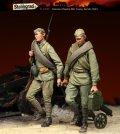 スターリングラード[ST3109]1/35ロシア兵クルスク1943(9)マキシムMGを引く兵士(2体入)