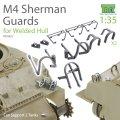 T-Rex Studio[TR35022]1/35 M4シャーマン戦車ライト/スコープガードセット 溶接車体用(2両分)