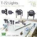 T-Rex Studio[TR35041]1/35ロシア T-72ヘッドライト/方向指示器セット(ライトガード付)