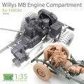 T-Rex Studio[TR35052]1/35 ウィリスMBエンジンコンパートメントセット タコム用