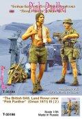 TANK[T-35186]1/35 現用英 SAS ランドローバークルー#3(オマーン1971)(2体)