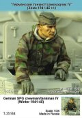 TANK[T-35144]1/35 WWII独 自走砲/戦車兵 IV(冬)1941-45)(1体)