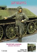 TANK[T-35146]1/35 WWII露 戦車兵(夏)1943-45(1体)