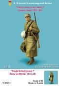 TANK[T-35151]1/35 WWII露 歩兵 I(秋-冬)1941-43)(1体)