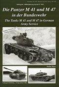 Tankograd[MFZ-S 5012]Tank M41 and M47 in German Service