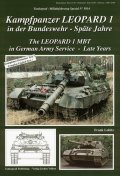 Tankograd[MFZ-S 5014]German Army Leopard 1 MBT -Late years