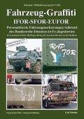 Tankograd[MFZ-S 5042]Fahrzeug-Graffiti IFOR-SFOR-EUFOR バルカンでの駐留ドイツ軍車両のパーソナルマーキング
