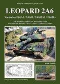 Tankograd[MFZ-S 5071]レオパルト2A6 インアクション & 2A6A1/2A6M/2A6MA1/2A6M+