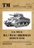 Tankograd[TG-TM 6001]US M4/M4A1 Sherman Medium Tank