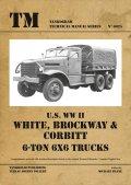 Tankograd[TG-TM 6025]U.S WWII ホワイト、ブロックウェイ&コービット 6トン 6x6トラック