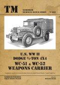 Tankograd[TG-TM 6031]米 ダッジ3/4トン 4X4 WC-51&WC-52 ウェポンキャリアー