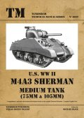 Tankograd[TG-TM 6032]米 M4A3シャーマン (75mm&105mm)