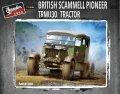 サンダーモデル[TM35204]1/35 WWII英 スキャンメルパイオニア 戦車運搬トラクター TRMU30