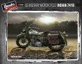 サンダーモデル[TM35003]1/35 アメリカ 軍用バイク インディアン741B