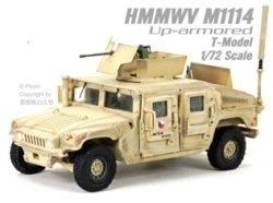 画像1: T-MODEL[TMOCH7204]完成品・1/72 US HMMWV M1114 HA(サンドイエロー)
