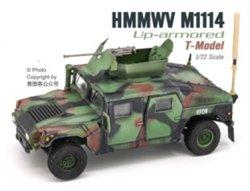 画像1: T-MODEL[TMOCH7211]完成品・1/72 US HMMWV M1114 HA (NATO迷彩)