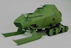 画像2: ヴィジョンモデルズ[VM-35005]1/35 ソ連 BA-64-3 SKh雪地型装甲車