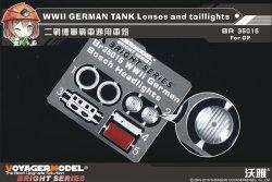 画像1: VoyagerModel [BR35015]1/35 WWII独 AFVライトレンズ・尾灯セット(汎用)