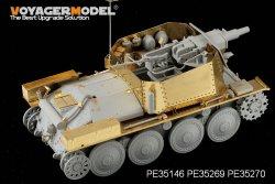 画像2: VoyagerModel [PE35269]1/35WWII独 38(t)偵察戦車 短砲身7.5cm砲搭載型 エッチングセット(DML6310用)