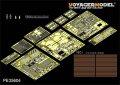 VoyagerModel [PE35604] 1/35 現用イスラエル D9R装甲ブルドーザー エッチングセット スラットアーマー付き(モンSS-002用)