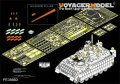 VoyagerModel [PE35660] 1/35 現用米 M2A3 ブラッドレー BUSK III 増加装甲付き エッチング基本セット(モンモデルSS-004用)