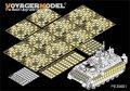 VoyagerModel [PE35661]1/35現用米 M2A3 ブラッドレー BUSK III 増加装甲付き ERAディティールセット(モンモデルSS-004用)
