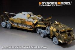 """画像2: VoyagerModel [PE35703]1/35""""WWII米 M25ドラゴンワゴン 戦車運搬車 エッチングセット"""