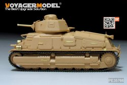 画像4: VoyagerModel [PE35766]WWII French SOMUA S35 Medium Tank Basic(For TAMIYA35344)