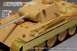 画像2: VoyagerModel [PE35796]WWII独 パンターD型 エッチング基本セット(タミヤ35345用)