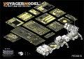 VoyagerModel [PE35815]1/35 パトリオット PAC-2 ミサイルランチャー+M983トラクター エッチング基本セット(トラペ01021+01022用/AFVクラブ 35S87用)