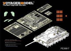 画像1: VoyagerModel [PE35817]英 コンカラーMk.II 重戦車 エッチング基本セット(DML 3555用)