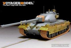 画像4: VoyagerModel [PE35817]英 コンカラーMk.II 重戦車 エッチング基本セット(DML 3555用)