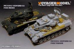 画像2: VoyagerModel [PE35852]1/35 現用独 ゲパルトA1 自走対空砲 エッチング基本セット(モンモデルTS-030用)
