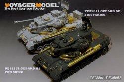 画像1: VoyagerModel [PE35852]1/35 現用独 ゲパルトA1 自走対空砲 エッチング基本セット(モンモデルTS-030用)