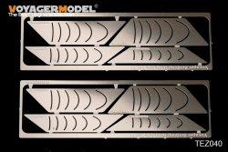 画像1: VoyagerModel [TEZ040]スジ彫り用テンプレートセット11挟所向けテンプレート